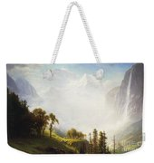 Majesty Of The Mountains Weekender Tote Bag