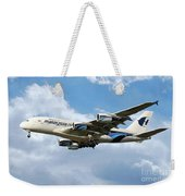 Malaysia Airlines Airbus A380 Weekender Tote Bag
