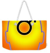 Male Symbol Weekender Tote Bag