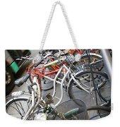 Many Bikes Weekender Tote Bag