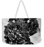 Map Of Germany-black Weekender Tote Bag