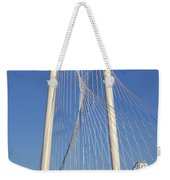Margaret Hunt Hill Bridge In Dallas - Texas Weekender Tote Bag