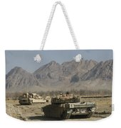 Marines Conduct Combat Operations Weekender Tote Bag