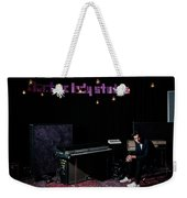 Mark Ronson Portrait By Anna Webber At Electric Lady Studios, Ny Weekender Tote Bag