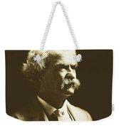 Mark Twain Weekender Tote Bag