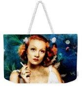 Marlene Dietrich, Vintage Actress Weekender Tote Bag