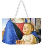 Mary With Baby Jesus Weekender Tote Bag
