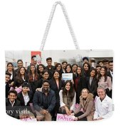 Mba Tour For Students Factory Visits Weekender Tote Bag