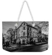 Melting Snow Weekender Tote Bag