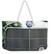 Mercedes Benz Hood Ornament Weekender Tote Bag