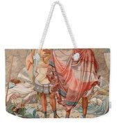 Mercy - David Spareth Saul's Life Weekender Tote Bag