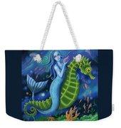Mermaid Weekender Tote Bag
