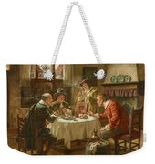 Merry Company In A Dutch Interior Weekender Tote Bag