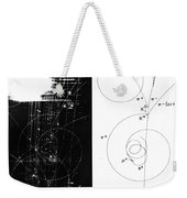 Mesons, Bubble Chamber Event Weekender Tote Bag