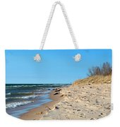 Michigan Beach Weekender Tote Bag