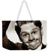 Mickey Rooney, Vintage Actor Weekender Tote Bag