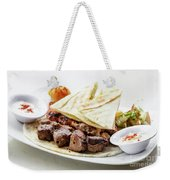 Middle Eastern Food Mixed Bbq Barbecue Grilled Meat Set Meal Weekender Tote Bag
