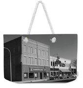 Miles City, Montana - Downtown 2 Bw Weekender Tote Bag