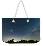 Milky Way And Countryside Weekender Tote Bag