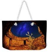 Milky Way Weekender Tote Bag by Okan YILMAZ