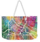 Minneapolis Minnesota City Map Weekender Tote Bag