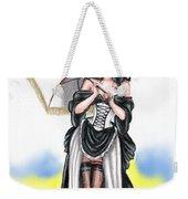 Miss Flirt Weekender Tote Bag