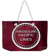 Missouri Pacific Lines Weekender Tote Bag