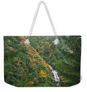 Misty Forest Turkey  Weekender Tote Bag