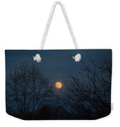 Misty Moonrise Weekender Tote Bag
