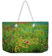 Mixed Wildflowers In Bloom Weekender Tote Bag