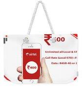 Mobile Recharge Online  Online Bill Payment  10digi Weekender Tote Bag