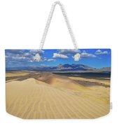 Mojave Kelso Dunes Landscape Weekender Tote Bag