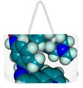 Molecular Model Of Imatinib Weekender Tote Bag