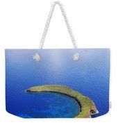 Molokini Aerial Weekender Tote Bag