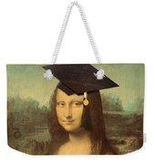 Mona Lisa  Graduation Day Weekender Tote Bag