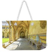 Monastery Of Santa Cruz Weekender Tote Bag