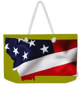 Montana State Map Collection Weekender Tote Bag