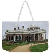 Monticello  Weekender Tote Bag