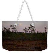 Moon Over Wetlands Weekender Tote Bag
