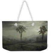 Moonlight On Mount Lafayette Weekender Tote Bag