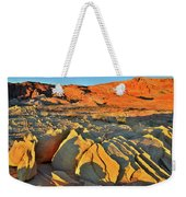 Morning Comes To Valley Of Fire Weekender Tote Bag