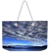 Morning Light On Okanagan Lake Weekender Tote Bag