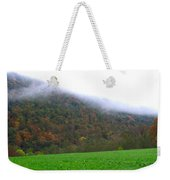 Morning Mountain Mist Weekender Tote Bag