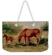Morning Pasture Weekender Tote Bag