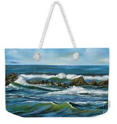 Morning Rush Weekender Tote Bag