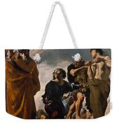 Moses And The Messengers From Canaan Weekender Tote Bag