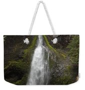 Mossy Waterfall Weekender Tote Bag