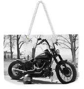 Motorbike Weekender Tote Bag