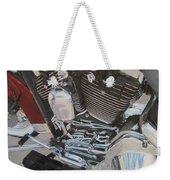 Motorcycle Close Up 1 Weekender Tote Bag