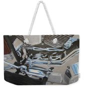 Motorcycle Close Up 2 Weekender Tote Bag